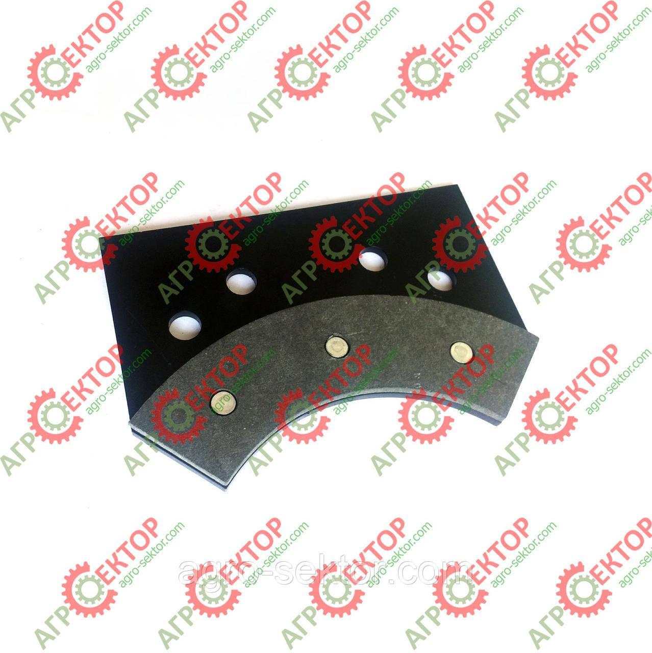 Тормозна колодка внутрішня дискового тормоза в'язального апарата на пресспідбирач Sipma Z-224 2012-070-550.00