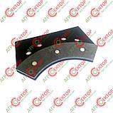 Тормозна колодка внутрішня дискового тормоза в'язального апарата на пресспідбирач Sipma Z-224 2012-070-550.00, фото 6