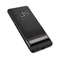 Чехол-накладка ROCK Royce Series Iron Gray для Samsung Galaxy S9
