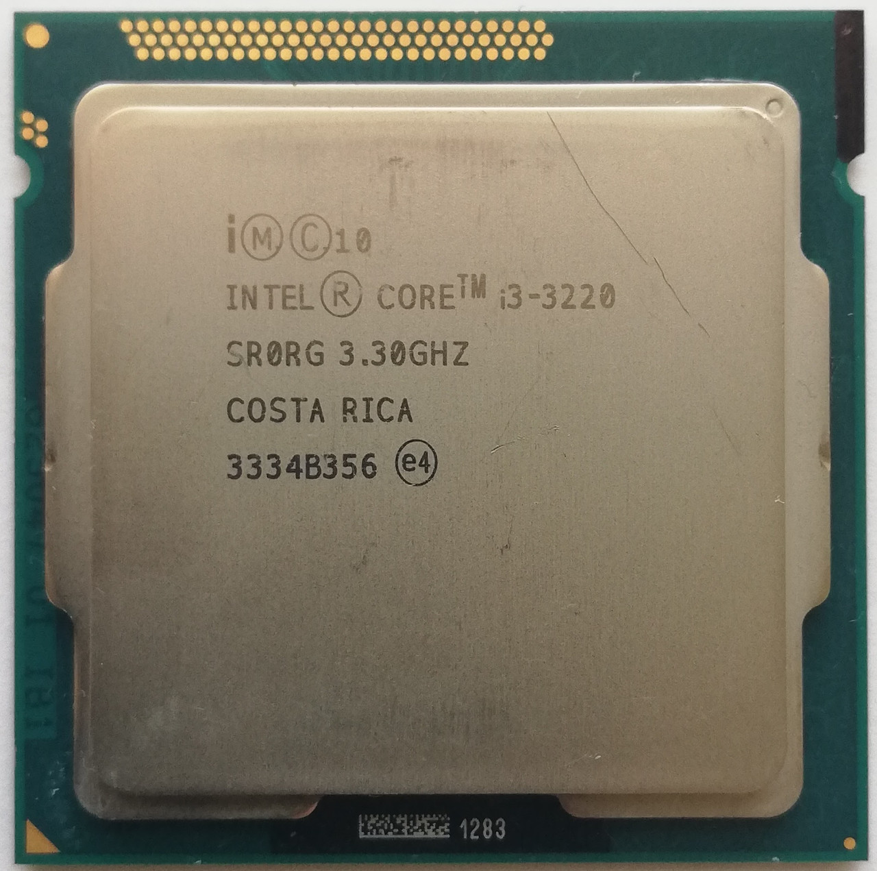 Процессор Intel Core i3-3220 SRORG 3.3GHz 3M Cache Socket 1155 Б/У