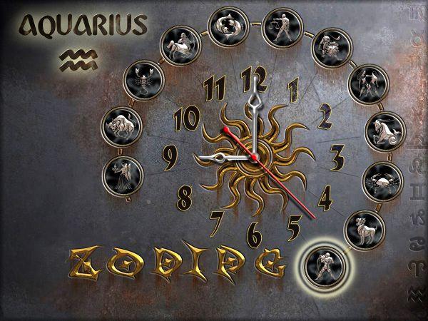 Часы настенные 61, зодиак 30х40 для кухни, гостиной, детской, спальни. Подарок