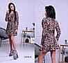 Лёгкое платье на запах, ткань: штапель. Размер: С (42-44), М(44-46). Разные цвета (6267), фото 8