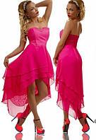 Коктейльное платье лю802