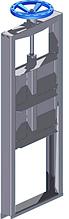 Шлюзовые затворы T.I.S SERVICE (Италия) A 011 0300 W с высоким ножом