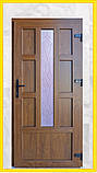 Двери входные металлопластиковые с окном, фото 2