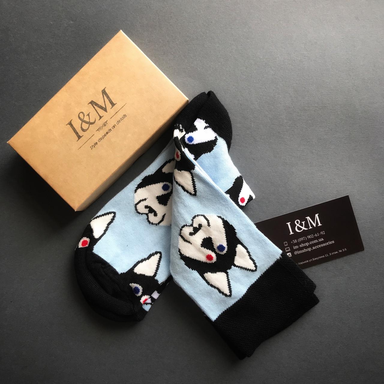 Носки женские I&M Craft с хаски (070243)