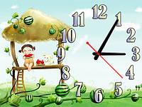 Часы настенные B 39, 30х40 для детской, спальни.
