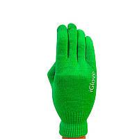Перчатки oneLounge iGlove для сенсорных экранов iPhone, iPad, iPod Салатовые