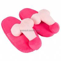 Розовые тапочки с пенисом