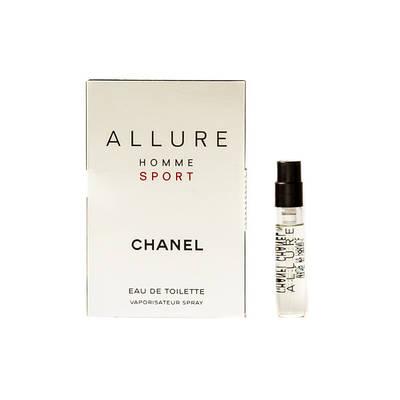 ПРОБНИК мужской парфюм CHANEL Allure Homme Sport 1.5ml туалетная вода, древесно-пряный аромат ОРИГИНАЛ