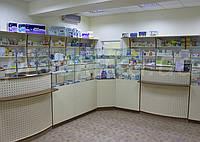 Оборудование для аптек. Классика торгового оборудования аптек