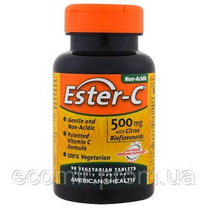 Эстер-Си с биофлав-ми (500мг/ 90 таблеток)