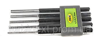 Набор выколоток параллельных (4/5/6/7/8mm) JBM 52013