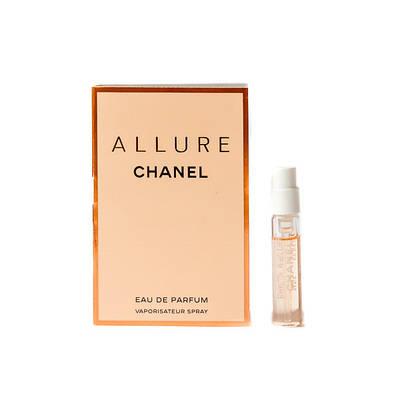 Пробник оригінальних жіночих парфумів CHANEL Allure 2ml, квітковий, спокусливий аромат з нотою ванілі