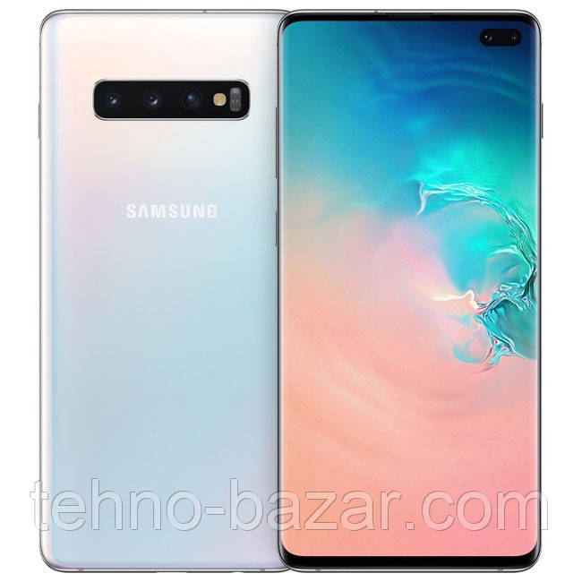 Смартфон Samsung G975FD Galaxy S10+ 8/128GB White duos Samsung Exynos 9820 4100 мАч