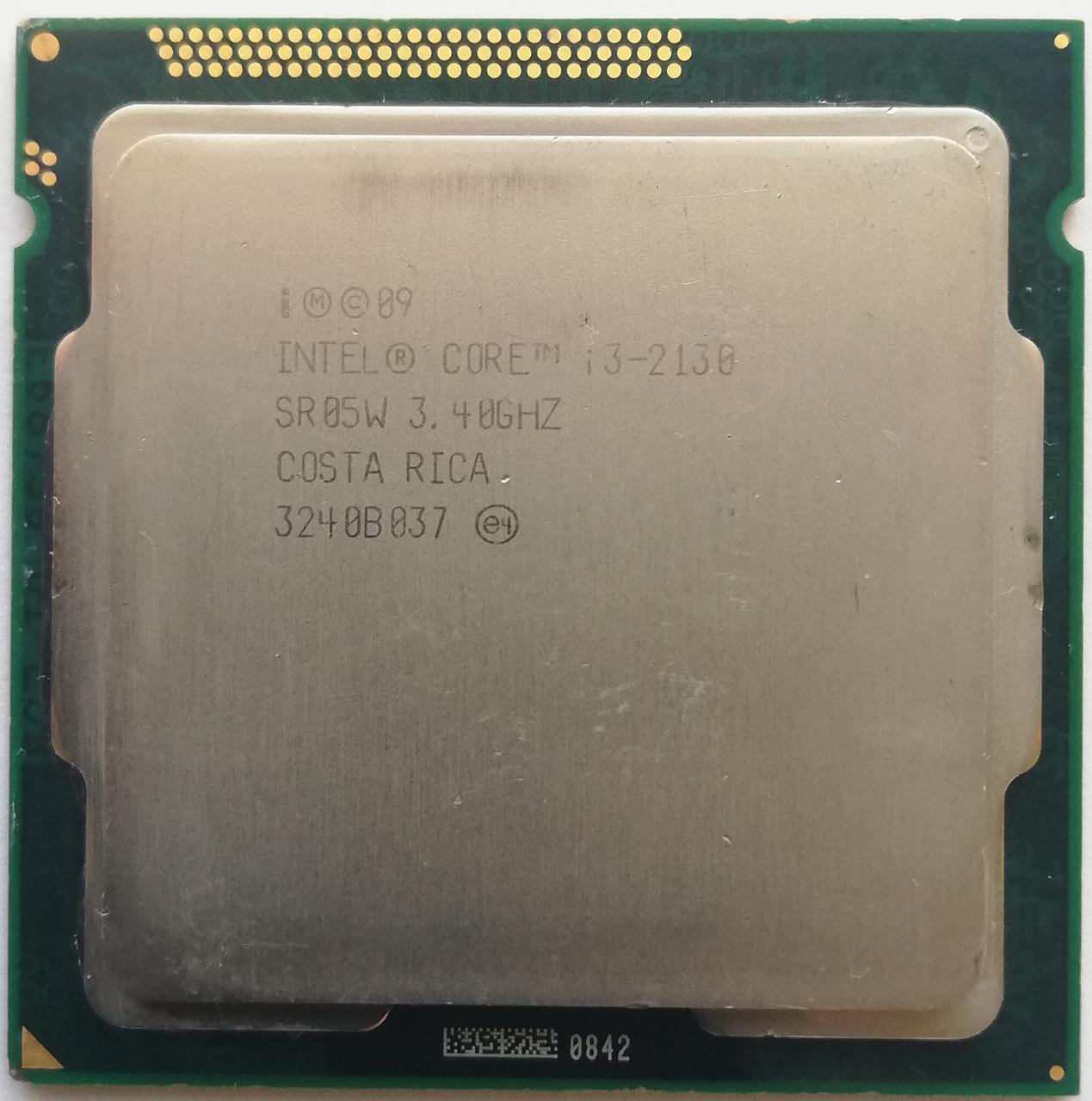 Процессор Intel Core i3-2130 SR05W 3.4GHz 3M Cache Socket 1155 Б/У