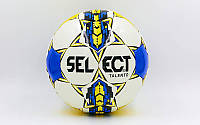 Мяч футбольный Select Talento Replica 8165 №5 White-Blue-Yellow