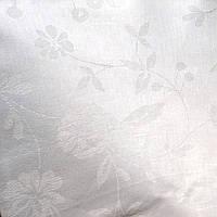 Ткань скатертная белая, лен, отрез 4м х 1,5м, фото 1