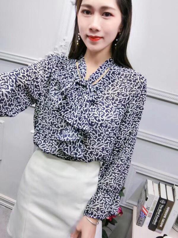 Шифонова блузка 46-48
