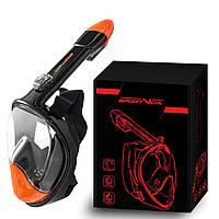 Маска для снорклинга (плавания) SportVida SV-DN0004 Size L/XL Black