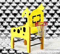 Жираф с баскетбольным кольцом, фото 1
