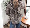 Леопардовая блузка на весну 46-48, фото 3
