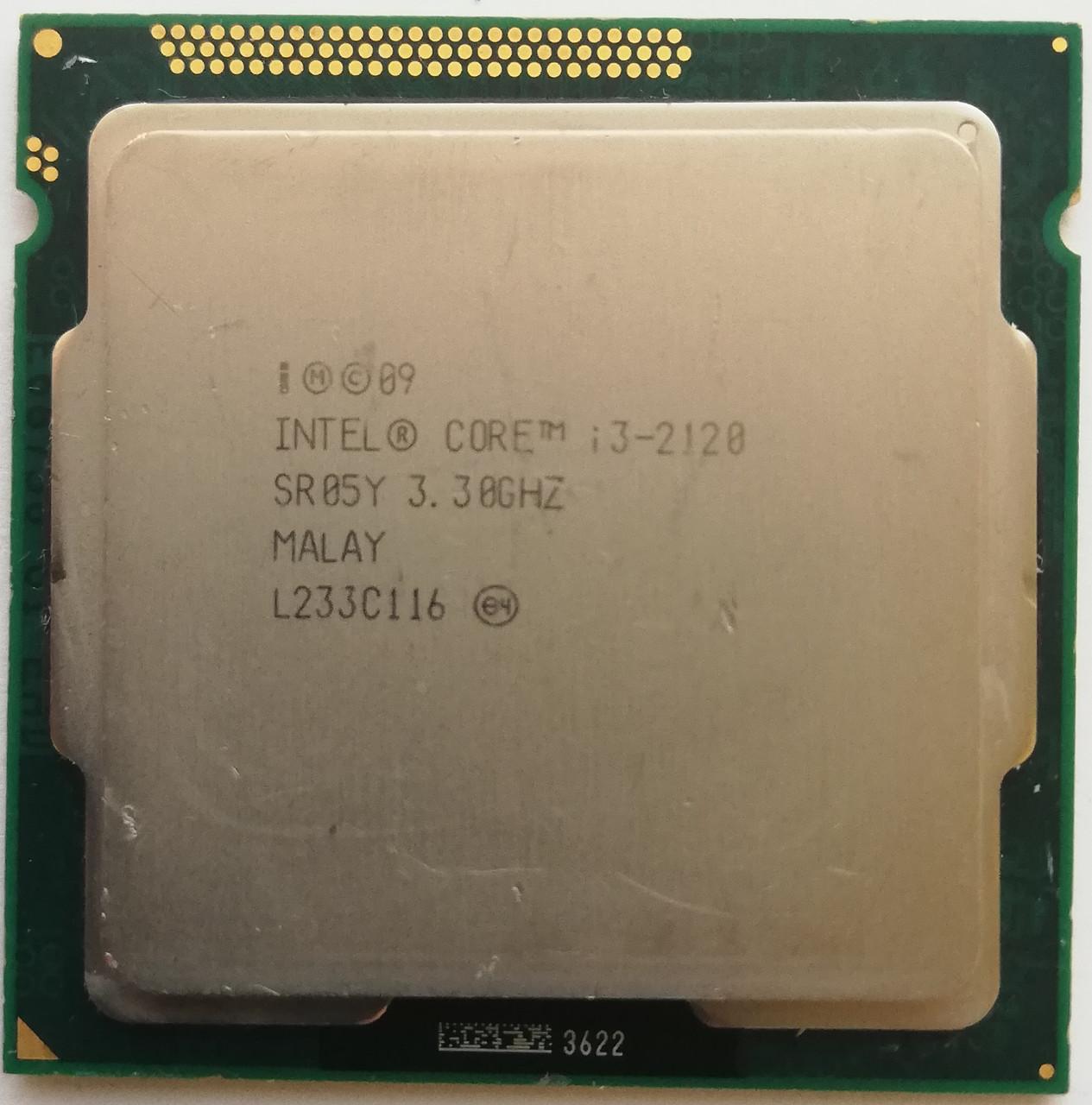 Процессор Intel Core i3-2120 SR05Y 3.3GHz 3M Cache Socket 1155 Б/У