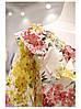 Яскрава квіткова блузка шовк, фото 2