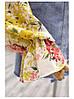 Яскрава квіткова блузка шовк, фото 4