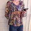 Вечерняя блузка с рюшами 46-48, фото 2