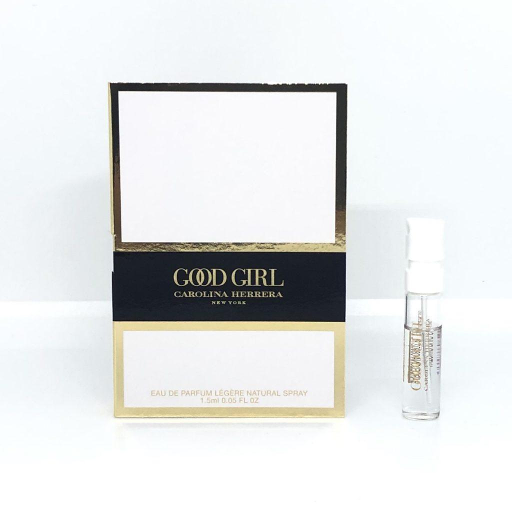 CAROLINA HERRERA Good Girl Legere пробник 1,5ml для женщин, сладкий восточный белоцветочный аромат ОРИГИНАЛ
