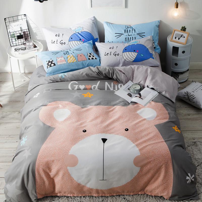 Комплект постельного белья Медвежонок (двуспальный-евро) Berni Home