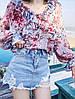 Модная блузка с рукавами 46-48, фото 3