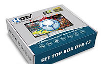 Приставка телевизионная T2 с Wi-Fi (футбол)