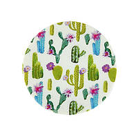 Попсокет подставка для телефона «Cactus» круглый яркий c кактусами