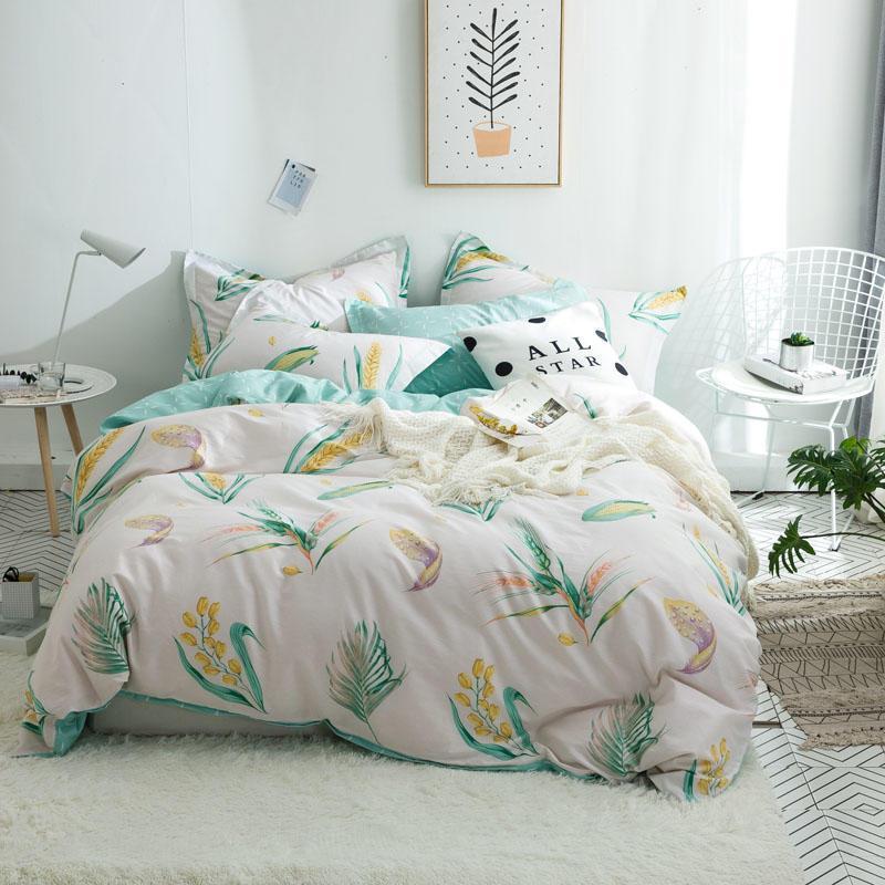 Комплект постельного белья Колоски (двуспальный-евро) Berni Home