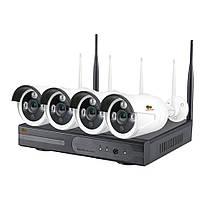 Набор видеонаблюдения для улицы Wi-Fi Partizan IP-31 4xCAM + 1xNVR 5Мп . Гарантия 3 года!
