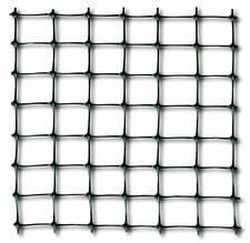 Клевер Сетка пластиковая /птичка/ яч. 12х14 мм, рул. 1х50 м (черная)