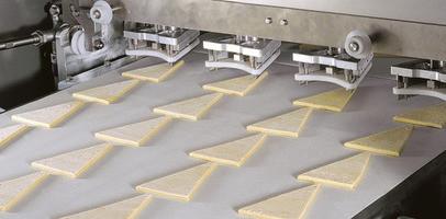 Харчова транспортерна стрічка для виробництва кондитерських виробів