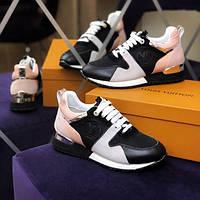 Жіночі кросівки Louis Vuitton Run Away, Репліка, фото 1