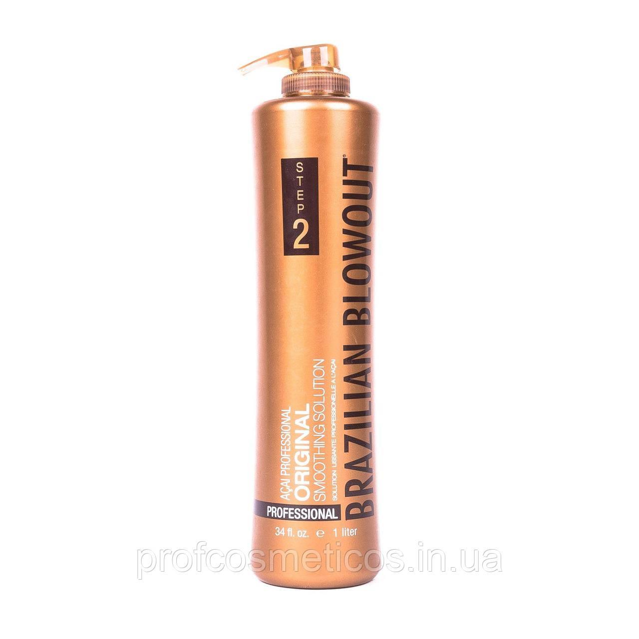 Премиум кератин для волос Brazilian Blowout 1000 мл