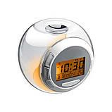 Часы будильник со звуками природы ART-502 (80 шт/ящ), фото 4
