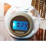 Часы будильник со звуками природы ART-502 (80 шт/ящ), фото 5