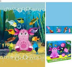 Набор детских полотенец Подводный мир  в подарочной упаковке