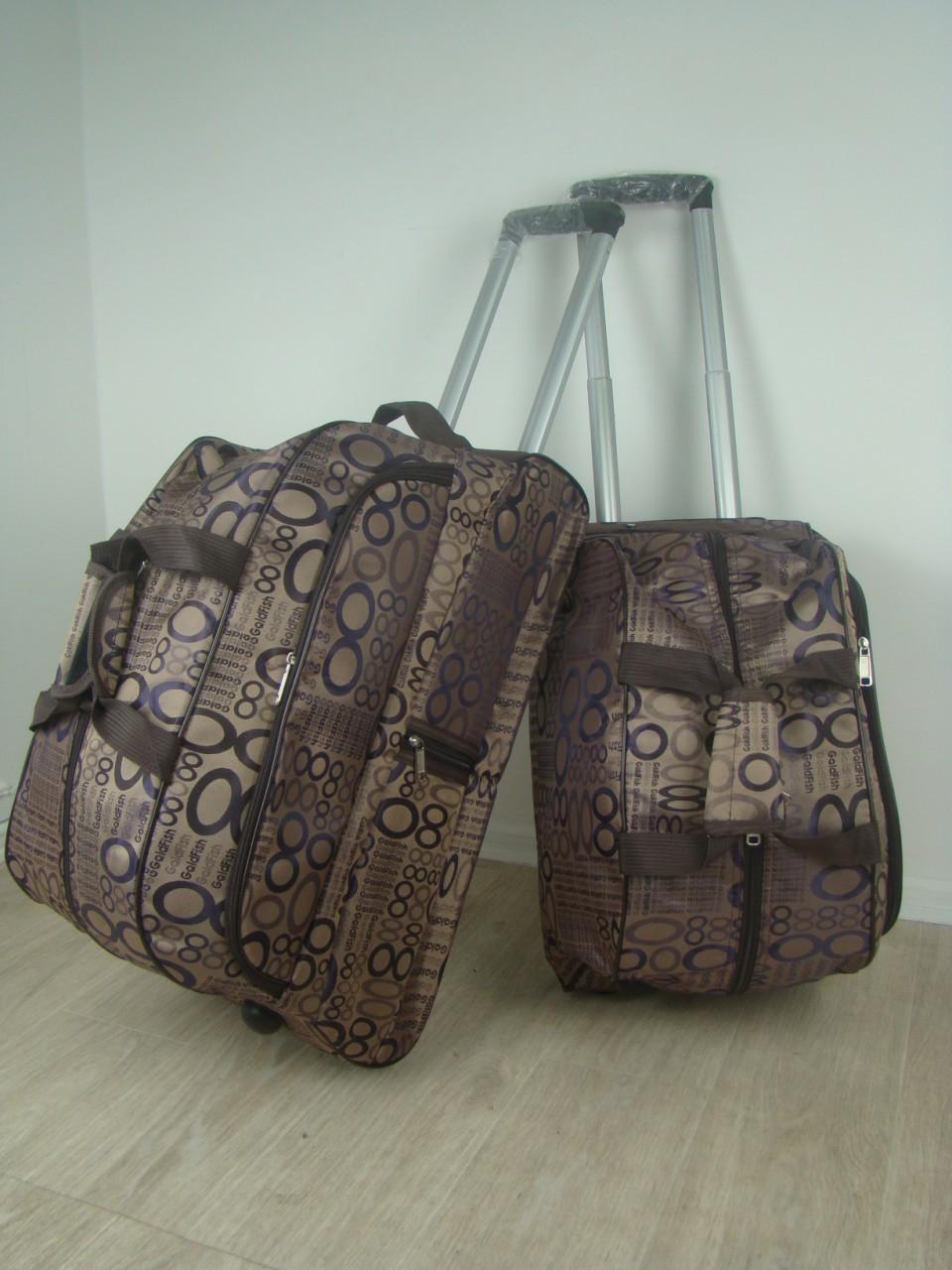 Дорожные сумки на колесах набор 2 шт