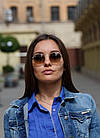 Очки Ray Ban Roud brown (replica), фото 6