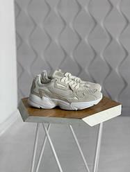 """Женские кроссовки Adidas Falcon """"White"""" (люкс копия)"""