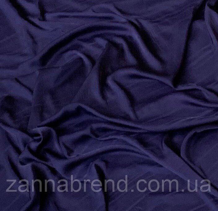 """Шёлк """"Армани"""" темно-синий цвет"""
