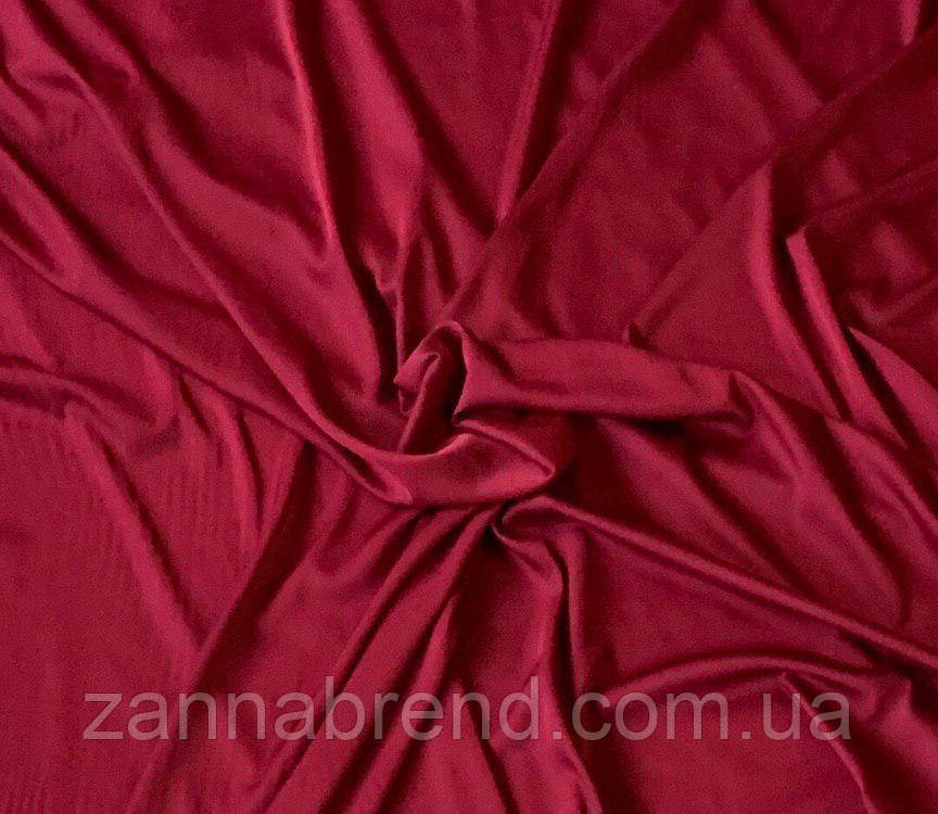 "Шёлк ""Армани"" бордовый цвет"