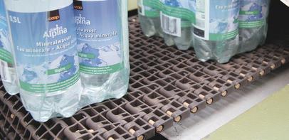 Транспортерна стрічка Habasit для транспортування соків,консервів
